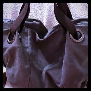 Handbags - 🔥Grey Jean tote! 🔥